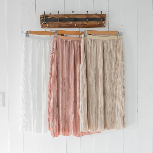 <CLEARANCE SALE>pleated skirt[890M]