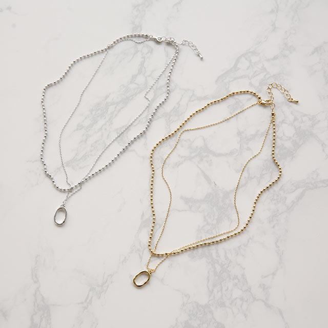 mix parts necklace[894J]