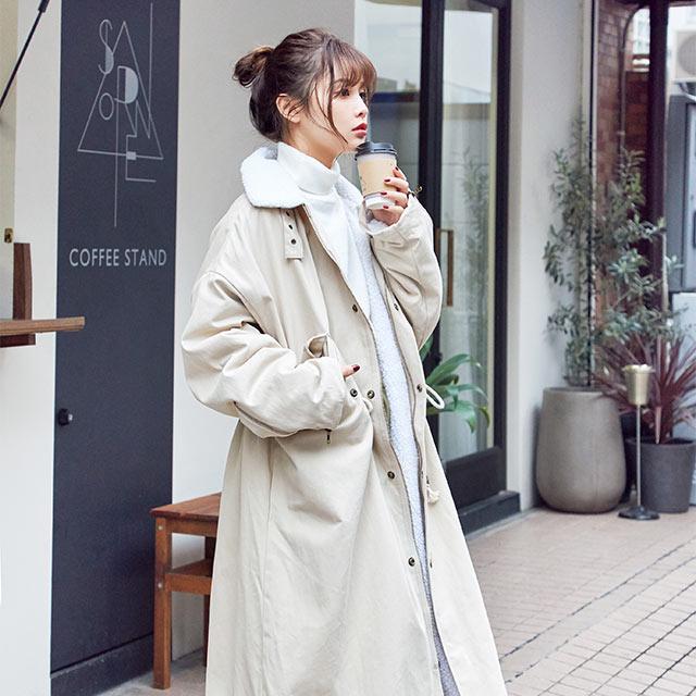 **rinko select** back bore military jacket[897K]