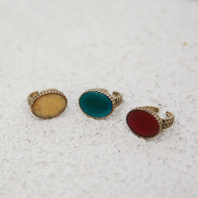 【1/21(thu)19:00〜】big color stone ring[916J]