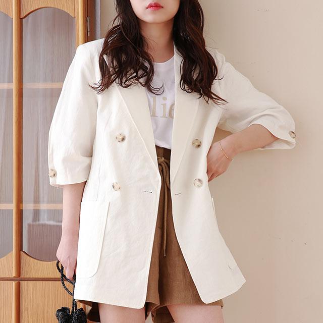 short sleeve summer jacket[949K]