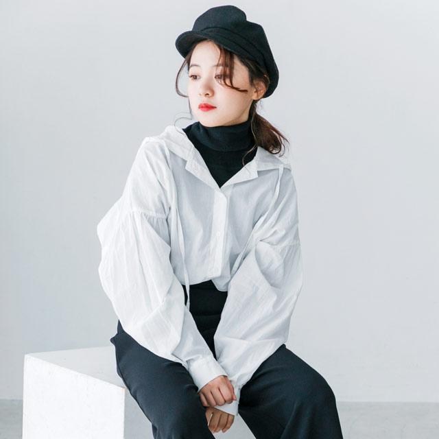 ≪WINTER SALE≫フーディーシャツ(全3色)[950C]