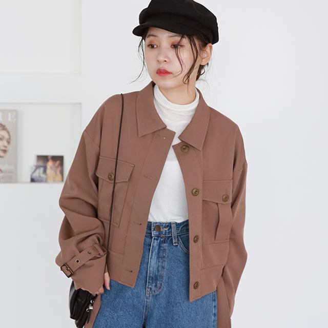 ≪店内全品ポイント7倍!!≫【Mayu Hotta × Isn't She?】belt point short jacket[978K]