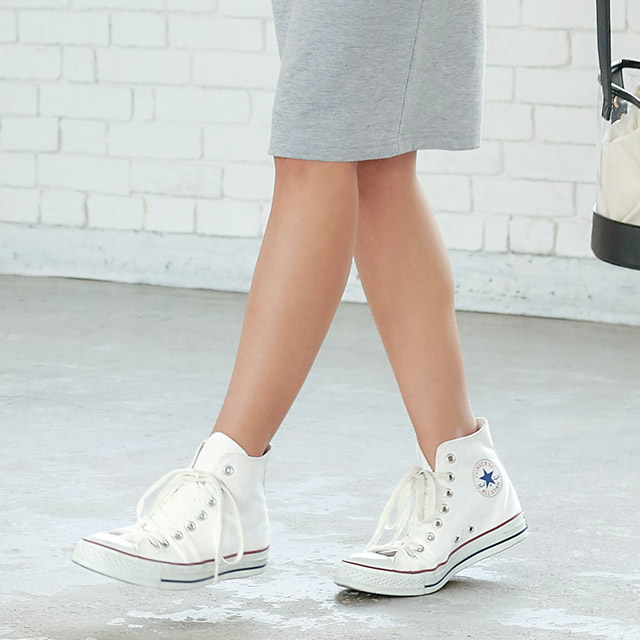 CANVAS ALL STAR★ hi canvas high-top sneakers[I1664]