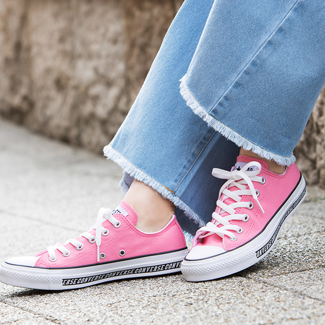 CANVAS ALL STAR★logolinehi&lo all-star logo canvas sneakers[I1669]