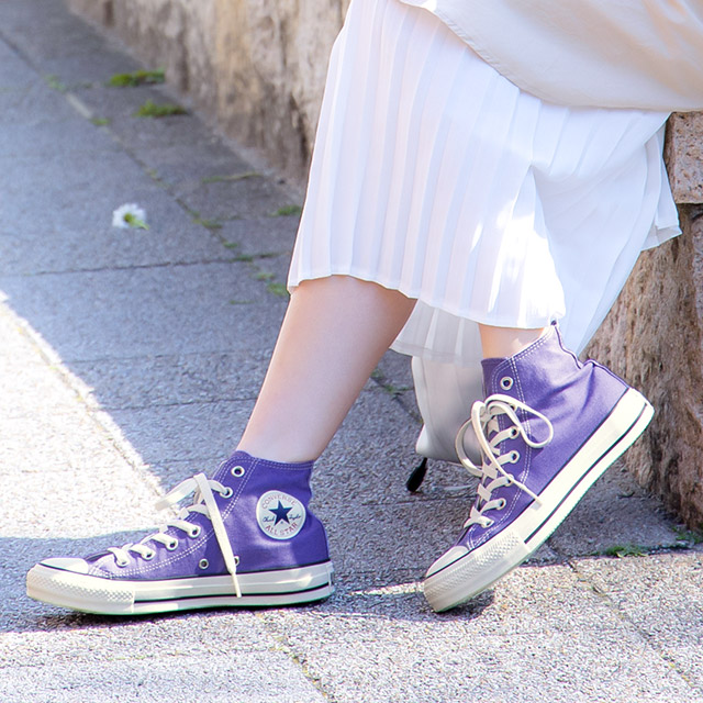 CANVAS ALL STAR★high cut or low cut canvas sneakers[I1841]
