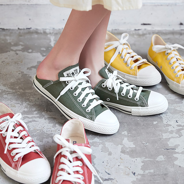 CANVAS ALL STAR★ linen lp bb ox all star linen low cut sneakers[I1842]