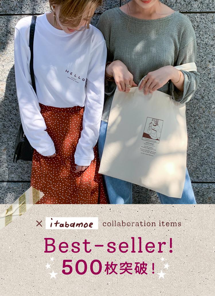 ×itabamoe collaboration OriginalT-Shirt Original Tote bag
