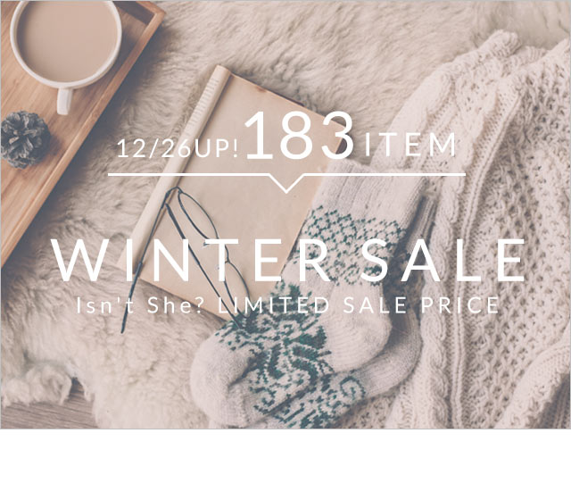 WINTER SALE Isn't She? LIMITED SALE PRICE 30ITEM