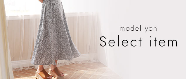 model yon  select item